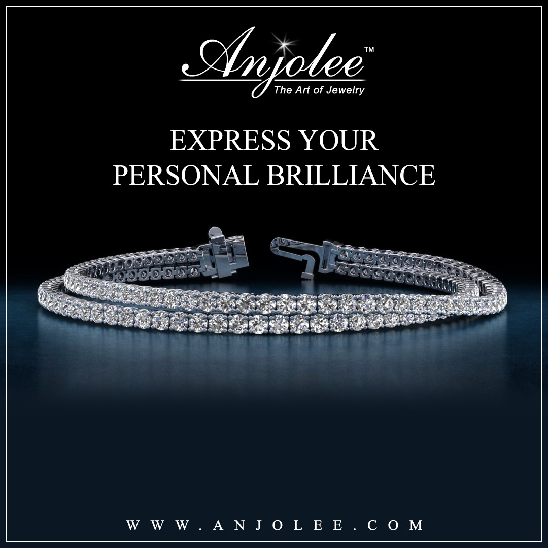 Double Strand Diamond Bracelet