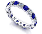 Anjolee Eternally Yours Gemstone Eternity Band
