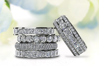 Anjolee Diamond Eternity Rings