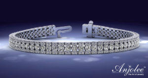 Radiant Diamond Tennis Bracelet