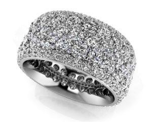 Piece De Resistance Diamond Eternity Ring