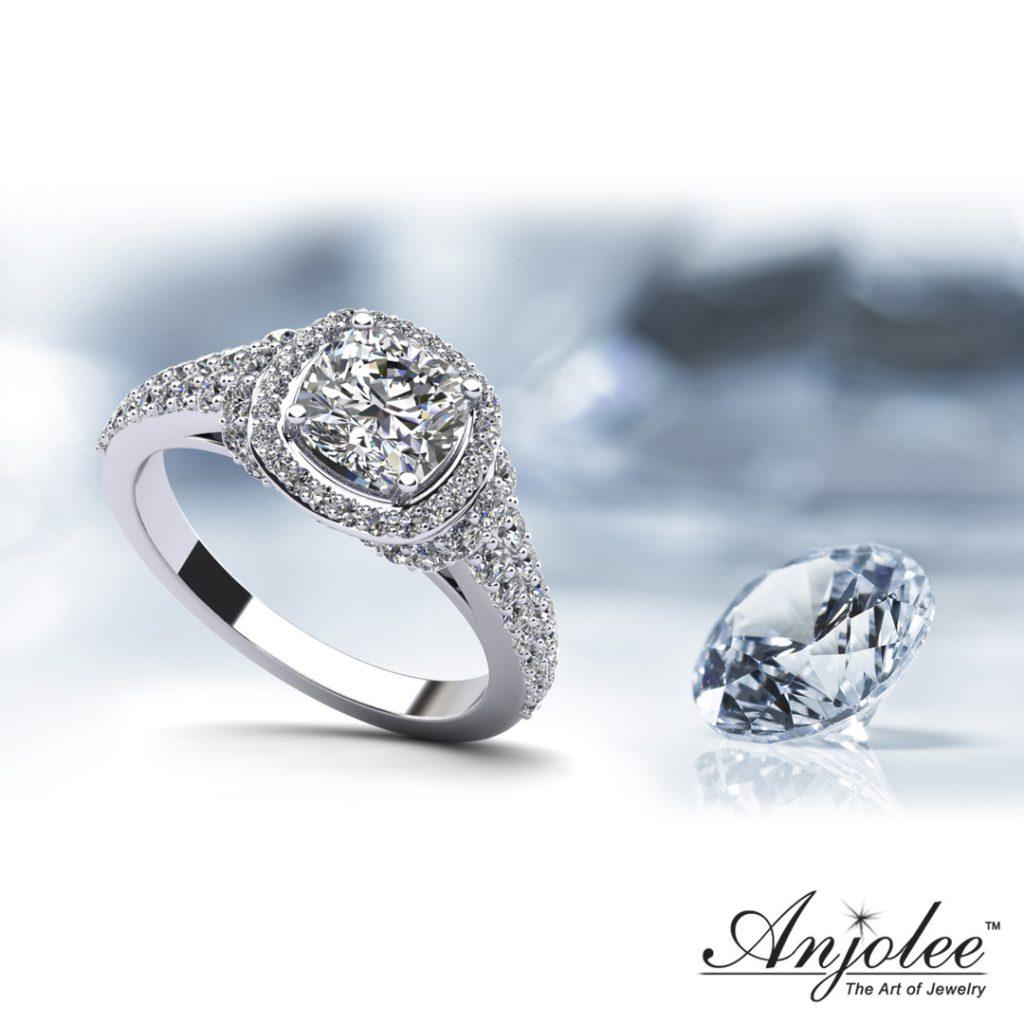 Cloud Nine Engagement Ring