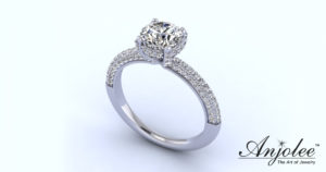 Royal Delight Diamond Engagement Ring