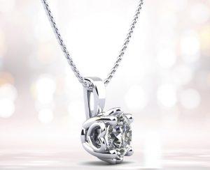 Dearest Sweetheart Diamond Pendant