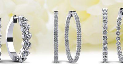 Anjolee Jewelry Hoop Earrings