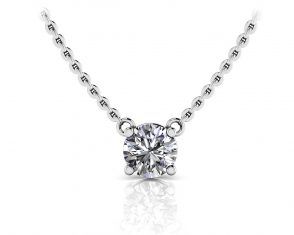 Simply Divine Diamond Solitaire Pendant