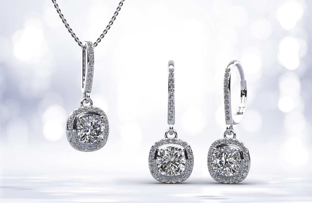 Halo Diamond Jewelry
