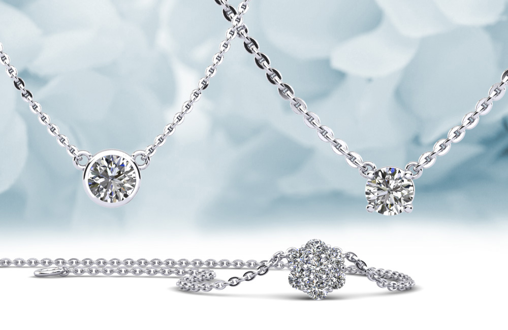 Anjolee Diamond Pendants