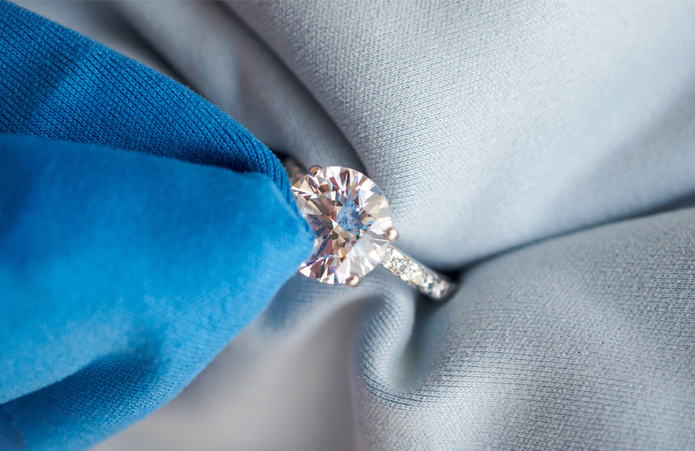 Caring For Fine Diamond Jewelry