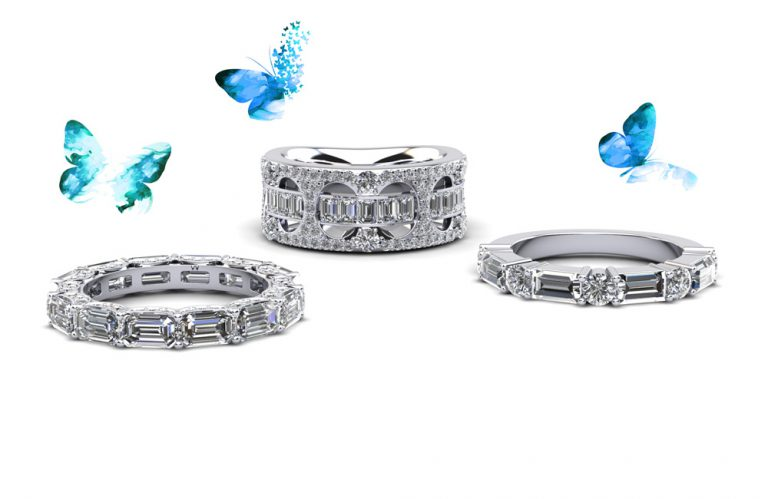 Anjolee Diamond Rings