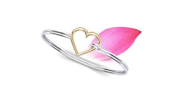 Anjolee Perfect Heart Unity Bracelet