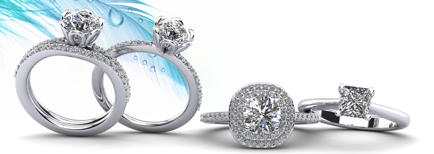 Protect Your Investment With A Silver and Cubic Zirconium Replica