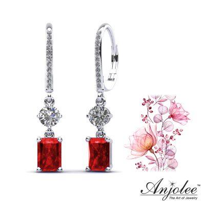 Anjolee Diamond and Gemstone Earrings