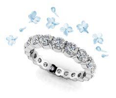 Anjolee Diamond Eternity Ring