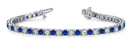 Anjolee Gemstone and Diamond Bracelet