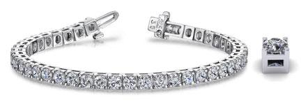 Anjolee Diamond Tennis Bracelets