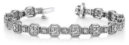 Anjolee Vintage Diamond Bracelet