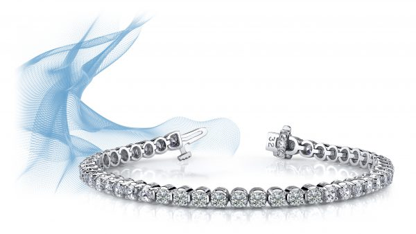 Anjolee Classic Four Prong Diamond Tennis Bracelet
