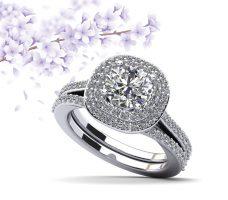 Effervescent Diamond Bridal Set