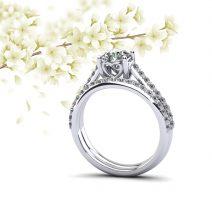Brilliant Sweetheart Diamond Bridal Set