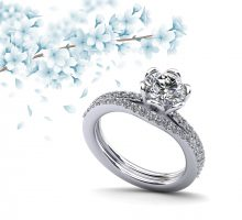 Floral Fancy Diamond Bridal Set Floral Fancy Diamond Bridal Set CONNECT WITH A SPECIALIST 877-265-6533LIVE CHATEMAIL US YOU MAY ALSO LIKE: Floral Fancy Engagement RingRanging From: 0.63 - 2.21 CaratsStarting From: $1,850.57 Cathedral Bridal SetRanging From: 0.50 - 2.00 CaratsStarting From: $1,845.32 Floral Fancy Diamond Bridal Set