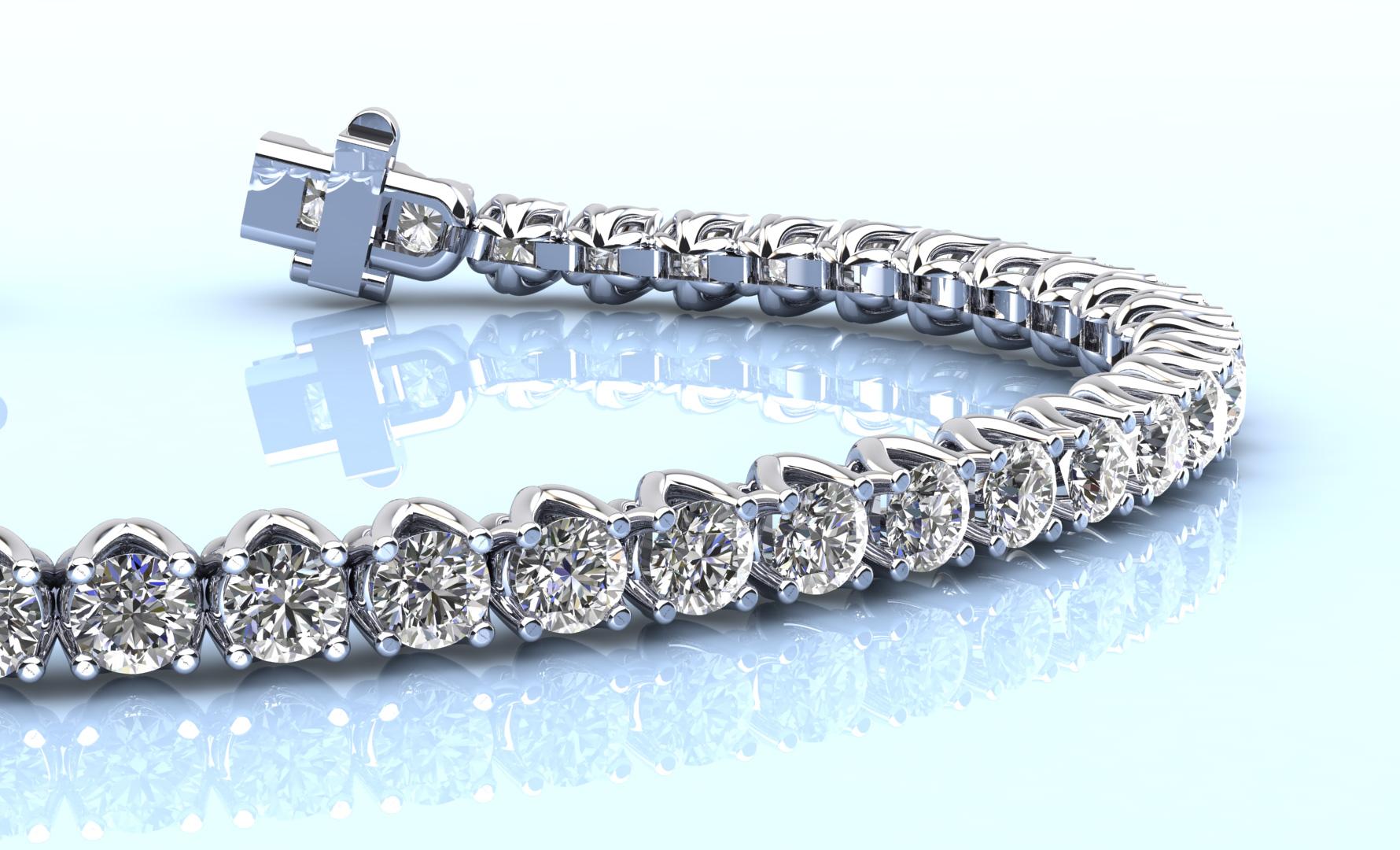 Anjolee Diamond Tennis Bracelet