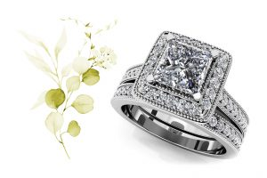 Princess Dreams Diamond Bridal Set